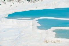 Beautiful postcard views of Pamukkale Stock Photo