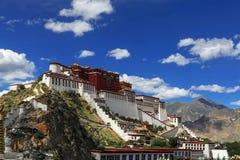Beautiful Potala Palace stock photo