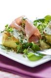 Beautiful potato dish Royalty Free Stock Image