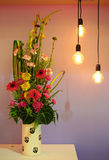 Beautiful potted flower arrangement. S at FLORIA event held in Putrajaya, Malaysia Stock Photography