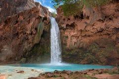 Havasu Falls Arizona. Beautiful and powerful Havasu Falls near Supai Arizona stock photos