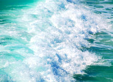 Beautiful powerful wave Stock Images