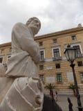 Beautiful Praetorian fountain, Sicily royalty free stock image