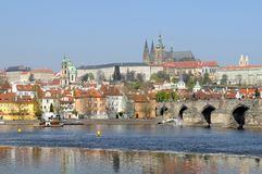 Beautiful Prague Stock Photography