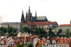 Beautiful Prague Castle Attraction Royalty Free Stock Photography