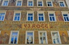 Beautiful Prague Hotel Stock Image