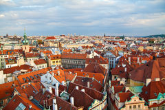 Beautiful Prague Houses Royalty Free Stock Image