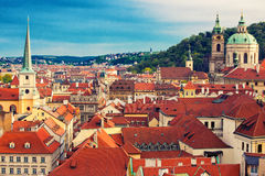 Beautiful Prague view Stock Photography