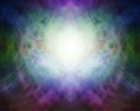 Beautiful Pranic Spiritual Energy Formation Background Stock Image
