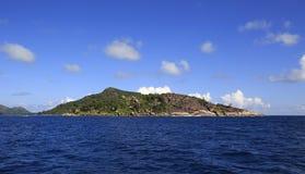 Beautiful Praslin Island in Indian Ocean Stock Photos
