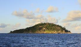 Beautiful Praslin Island in Indian Ocean. Royalty Free Stock Images