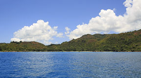 Beautiful Praslin Island in Indian Ocean. Stock Photography