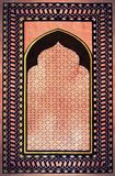 Beautiful praying carpet pattern Royalty Free Stock Photo