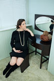 Beautiful pregnant Stock Image