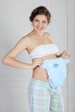 Pregnant female Stock Images
