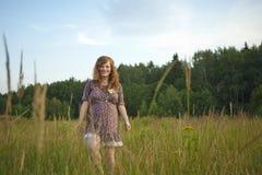 Beautiful pregnant girl Royalty Free Stock Image