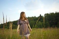Beautiful pregnant girl Royalty Free Stock Photos