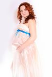 Beautiful pregnant woman Royalty Free Stock Photography