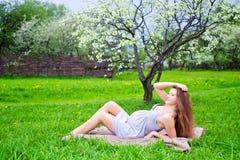Beautiful pregnant woman Royalty Free Stock Photos