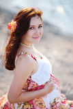 Beautiful pregnant woman Royalty Free Stock Images