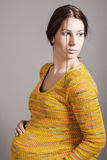 Beautiful pregnant woman Royalty Free Stock Image