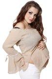 Beautiful pregnant woman Stock Photos