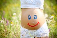 Pregnant woman Stock Photo