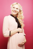 Beautiful pregnant woman Stock Image