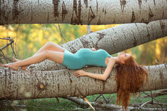 Free Beautiful Pregnant Woman In The Garden Royalty Free Stock Photo - 70172485