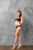 Beautiful pregnant women Stock Image