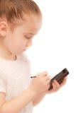Beautiful preschool child royalty free stock photography