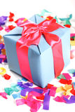 Beautiful present in the box Royalty Free Stock Photos