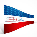 Beautiful Presidents day background united states flag design Stock Photo