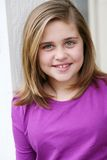 Beautiful preteen girl Royalty Free Stock Image