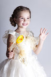 Beautiful pretty little girl Stock Images