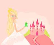 Beautiful  princess Stock Photography