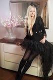 Beautiful princess Stock Images