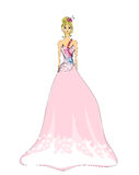 Beautiful princess Royalty Free Stock Images