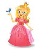 Beautiful princess Stock Photos