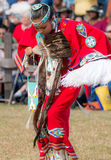 Native American Princess. Beautiful Native American dancer at a powwow in Houston Texas Stock Images