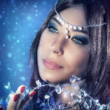Beautiful princess portrait Stock Image