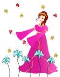 Beautiful princess Stock Photography