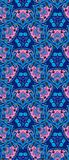 Beautiful print for fabric. Ethnic detailed floral and paisley seamless pattern. Stock Image
