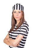 Beautiful prisoner Royalty Free Stock Photography