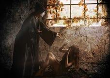 Beautiful prisoner Royalty Free Stock Photography