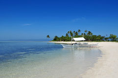 Beautiful Pristine Tropical Island Beach. Stock Photography