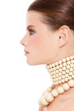 Beautiful profile Royalty Free Stock Images