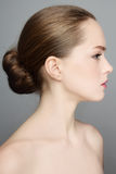 Beautiful profile Royalty Free Stock Image