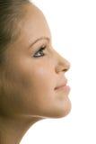 Beautiful profile Stock Photos