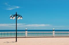 Beautiful promenade Stock Photos